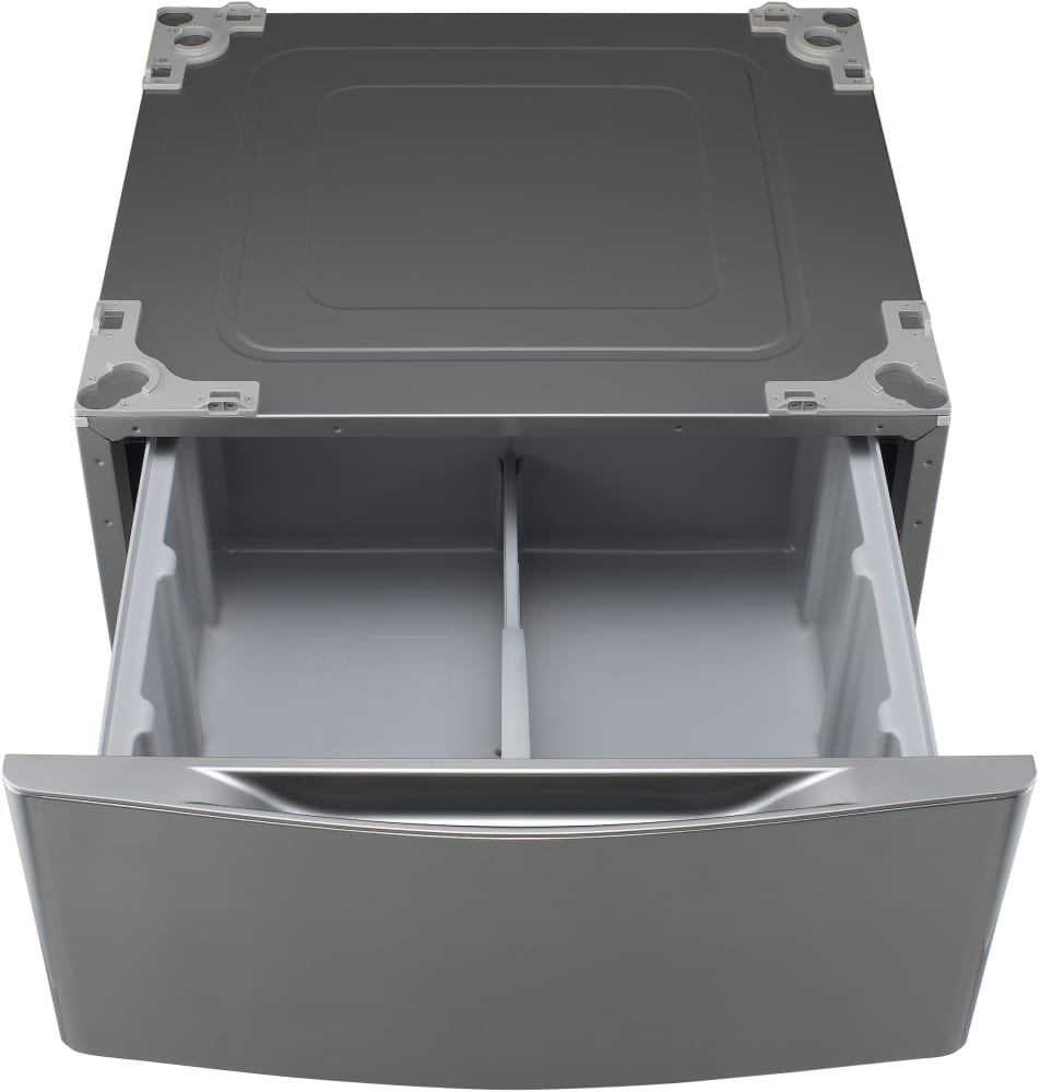 lg pedestal wdp4w lg wdp4v pedestal with drawer graphite steel 823