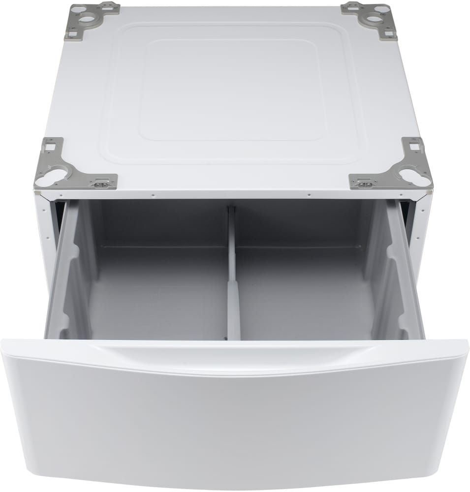 lg pedestal wdp4w lg wdp4w pedestal with drawer white 823