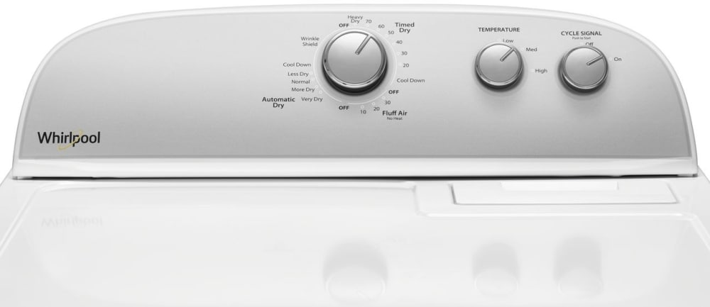 Whirlpool Wgd4950hw 29 Inch Gas Dryer With Autodry Drying
