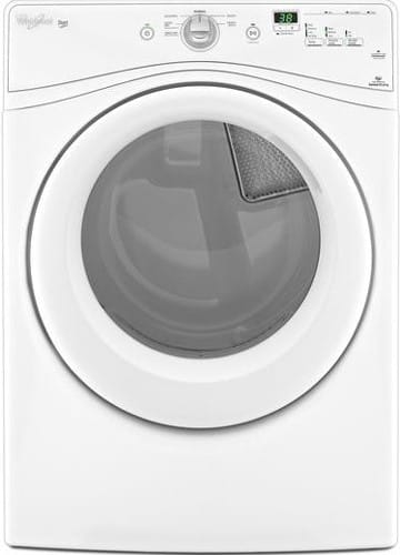 Whirlpool Wed70hebw 27 Inch Electric Dryer With 7 4 Cu Ft Capacity