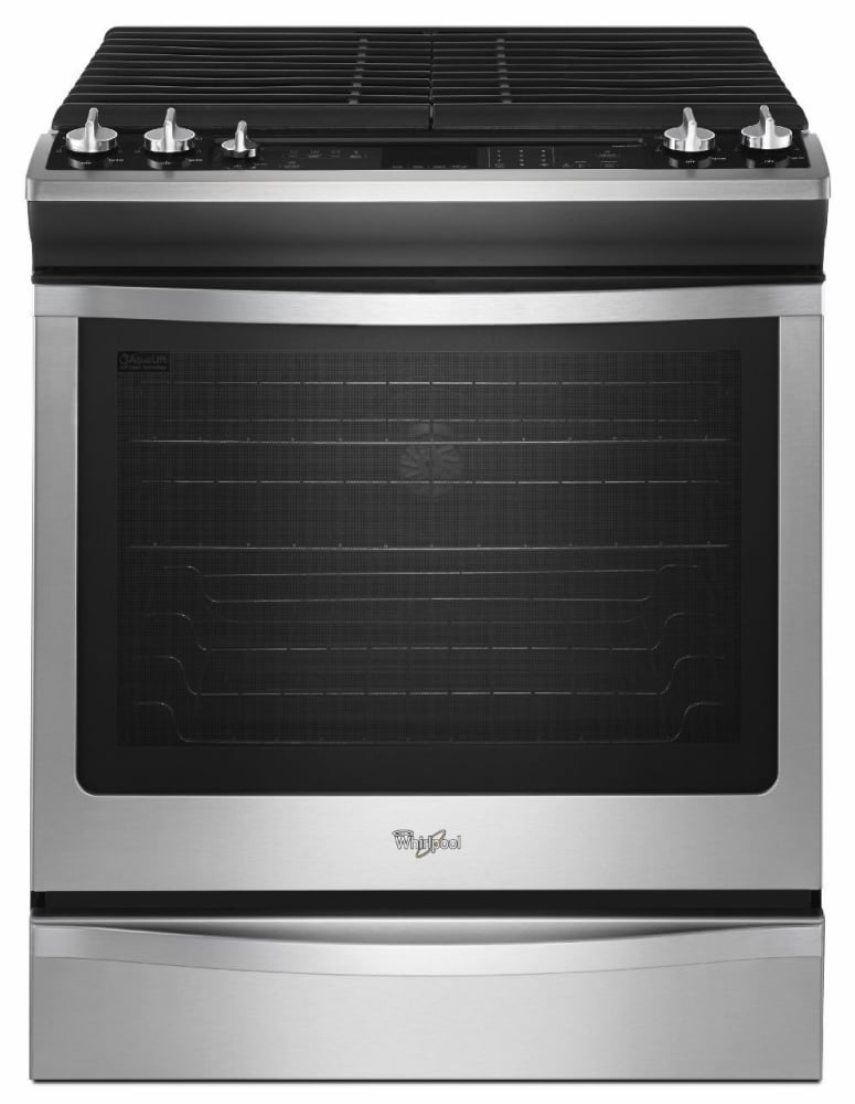 Whirlpool Weg760h0ds 30 Inch Slide In Gas Range With 2
