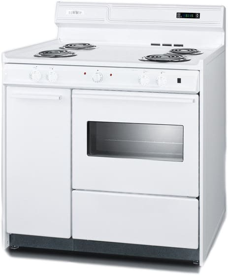 Summit Wem430kw 36 Inch Freestanding Electric Range With