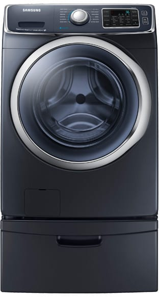 samsung wf45h6300ag 27 inch 4 5 cu ft front load washer with 13 wash cycles 1 300 rpm steam. Black Bedroom Furniture Sets. Home Design Ideas