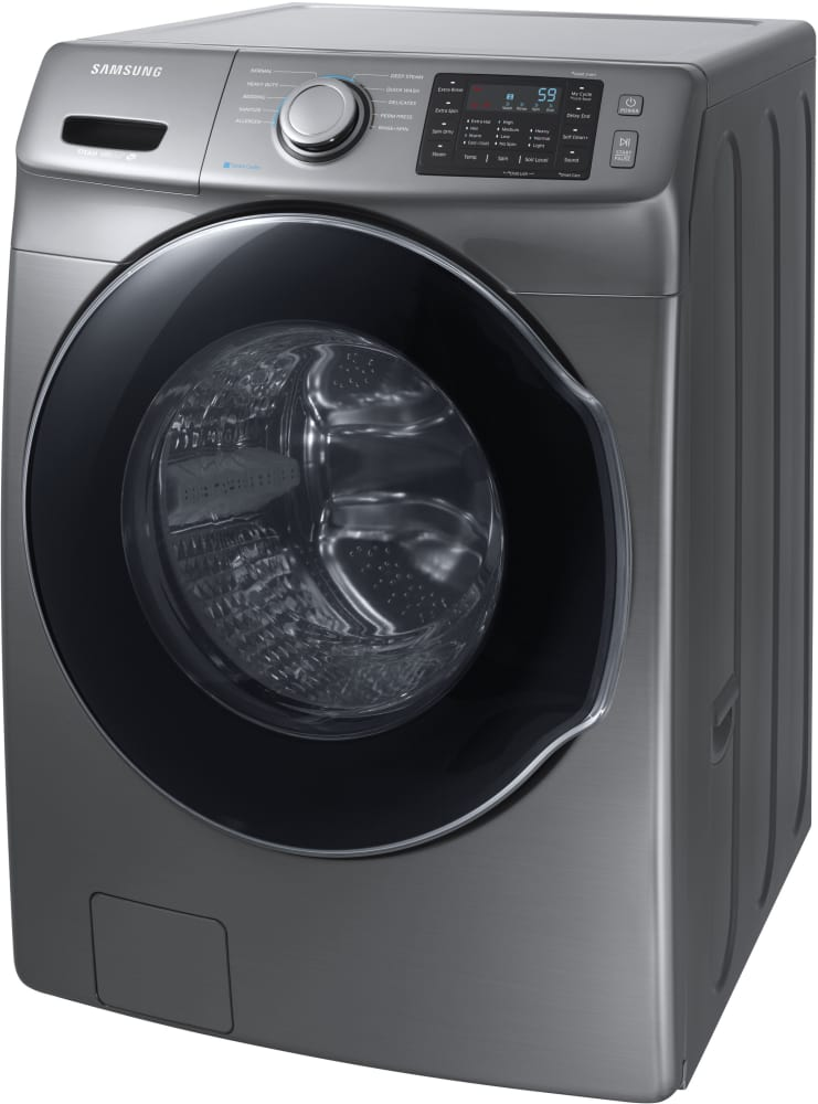 Samsung Wf45m5500ap 27 Inch Front Load Washer With Steam