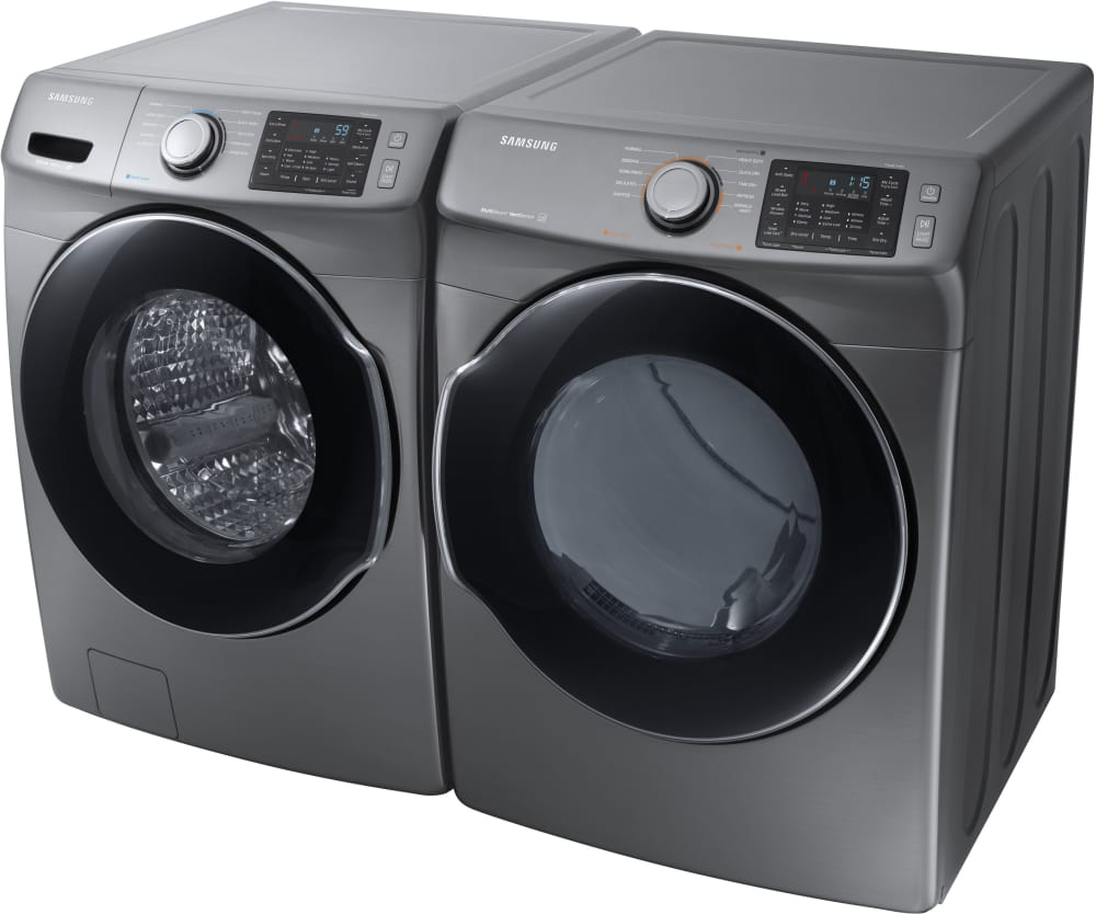 Samsung Dve45m5500p 27 Inch Electric Dryer With Multi