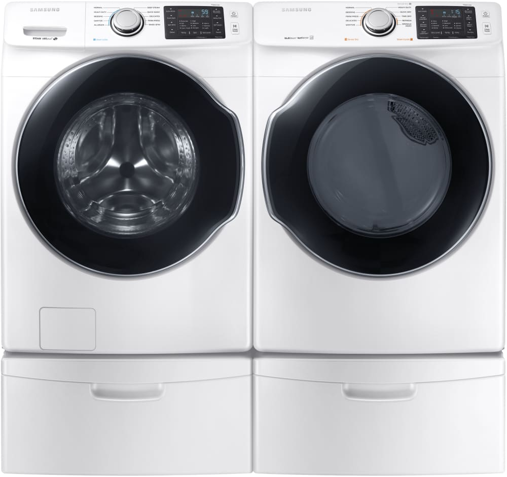 samsung load dryer and front with reg whirlpool for washer pedestal storage laundry accessories