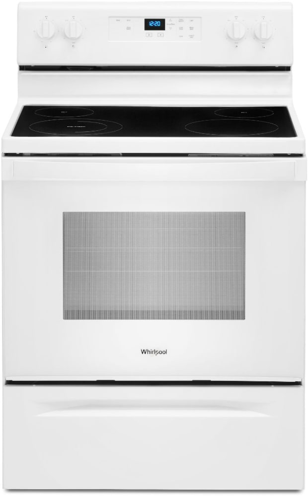 Whirlpool WFE320M0JW 30 Inch Freestanding Electric Range with 4 Radiant  Elements, 5.3 cu. ft. Oven Capacity, Storage Drawer, Upswept SpillGuard™  Cooktop, and FlexHeat™ Dual Radiant Element: White | Whirlpool Stove Top Wiring Diagram |  | AJ Madison