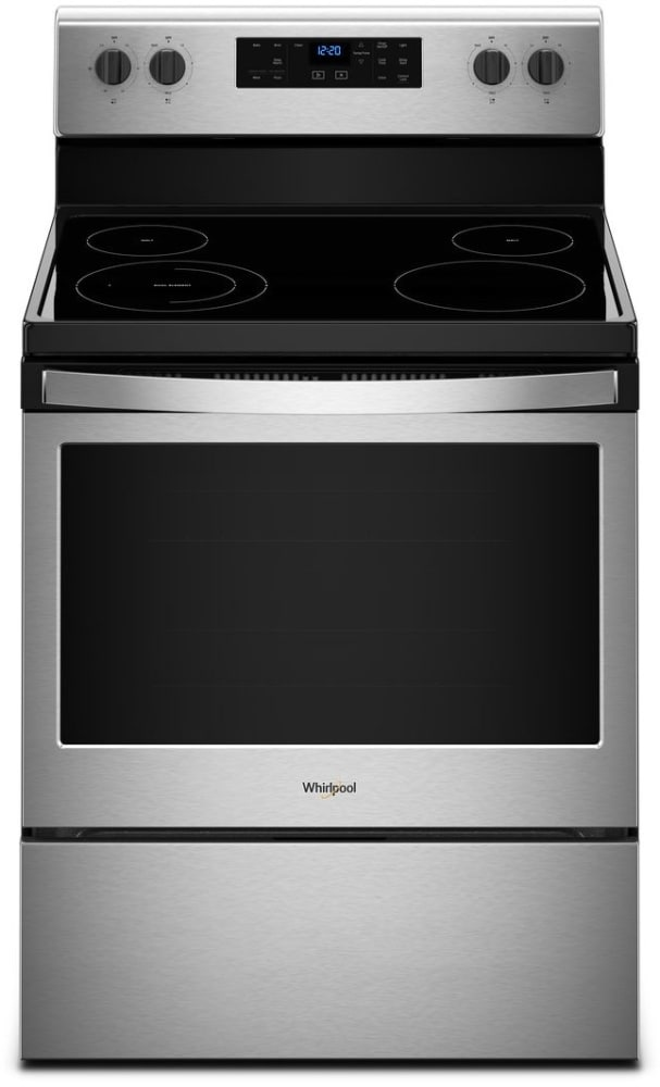 Whirlpool Wfe505w0hs 30 Inch Freestanding Electric Range