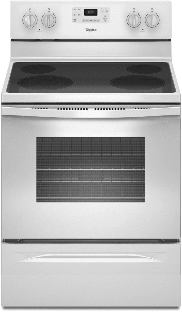 Whirlpool Wfe515s0ew 30 Inch Freestanding Electric Range With
