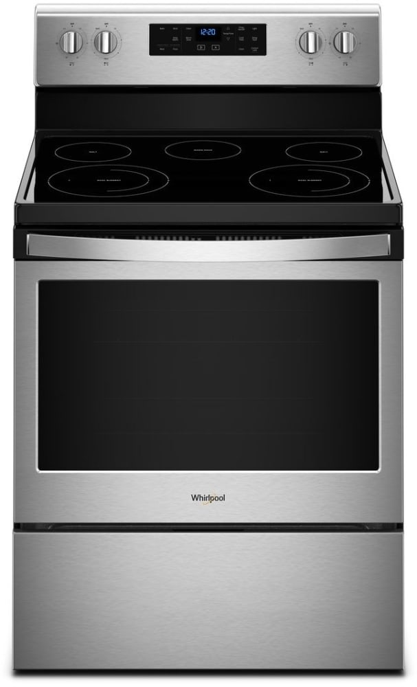 Whirlpool Wfe525s0hs 30 Inch Freestanding Electric Range