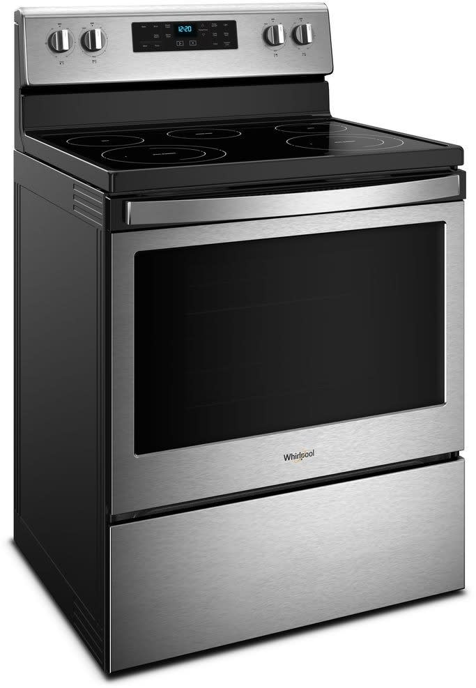 Whirlpool Wfe525s0hz 30 Inch Freestanding Electric Range
