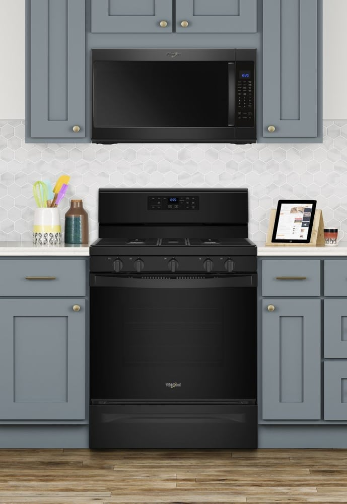 Whirlpool Wfg525s0hb 30 Inch Freestanding Gas Range With