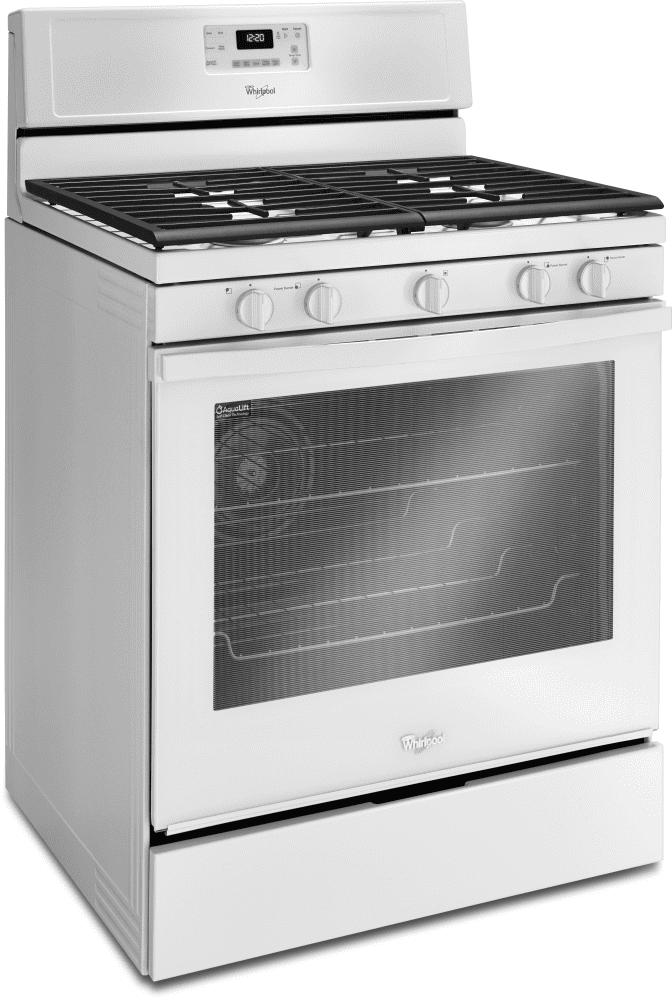 Whirlpool Wfg540h0ew 30 Inch Freestanding Gas Range With