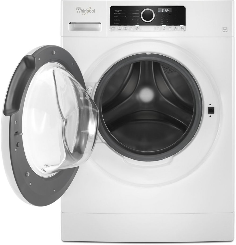 Whirlpool Wfw3090jw 24 Inch Compact Front Load Washer With