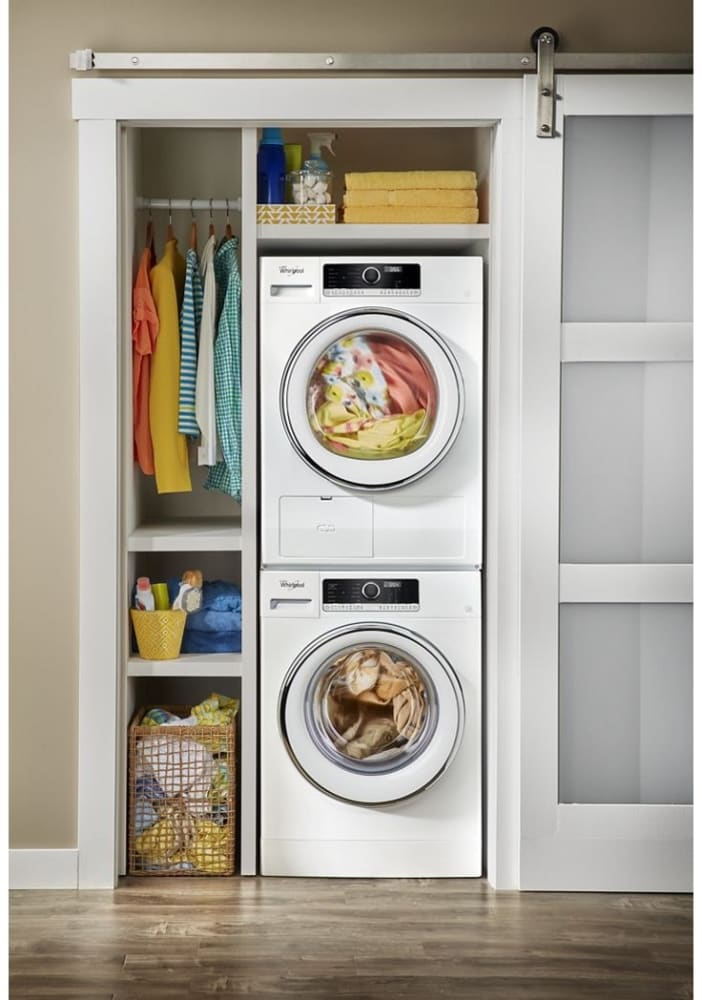 Whirlpool Wfw5090jw 24 Inch Compact Front Load Washer With
