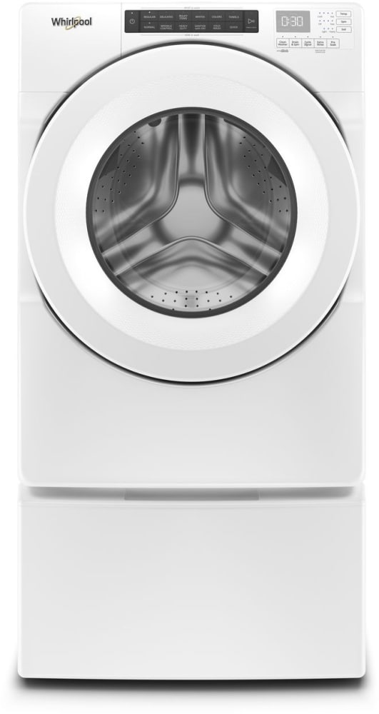 Whirlpool Wfw560chw 27 Inch Front Load Washer With Presoak