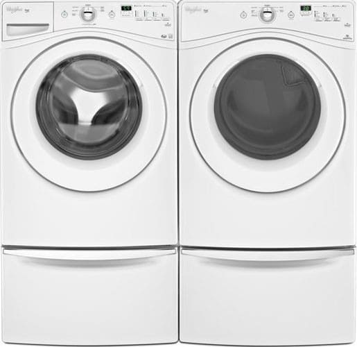 Whirlpool Wfw70hebw 27 Inch Front Load Washer With 4 1 Cu