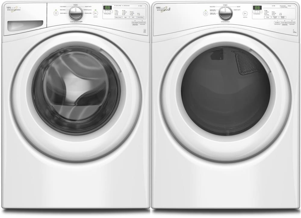 Image result for WFW7590FW Whirlpool 4.2 Cu. Ft. Front Load Washer