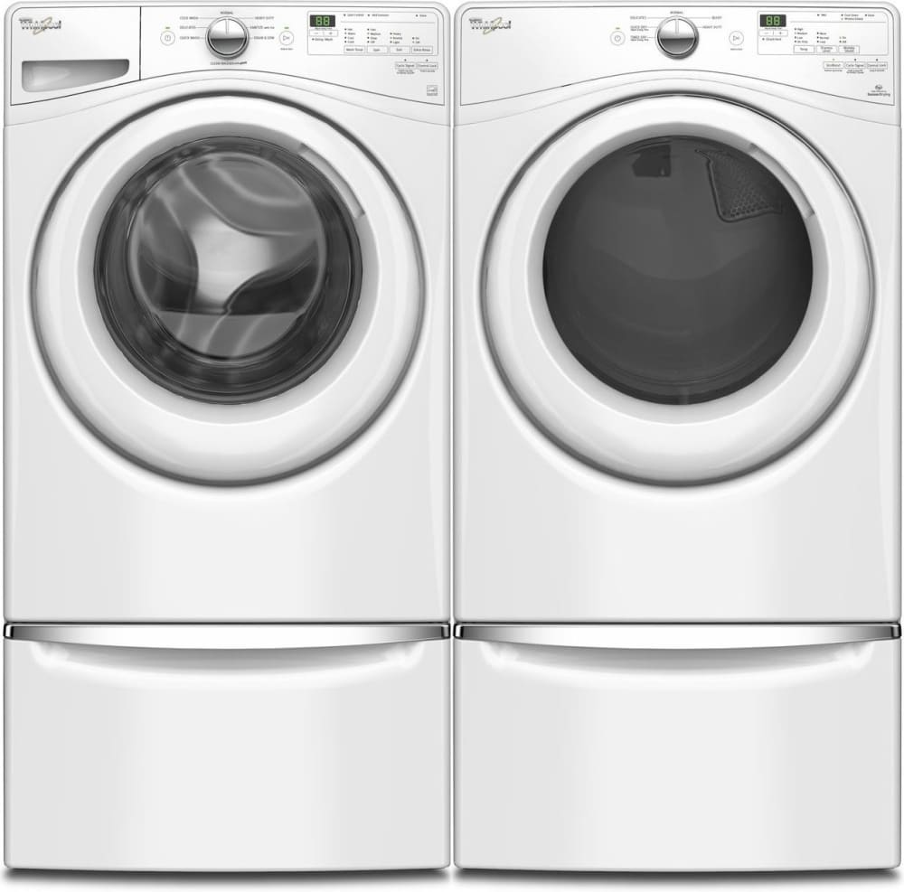 Whirlpool Wfw7590fw 27 Inch 4 2 Cu Ft Front Load Washer