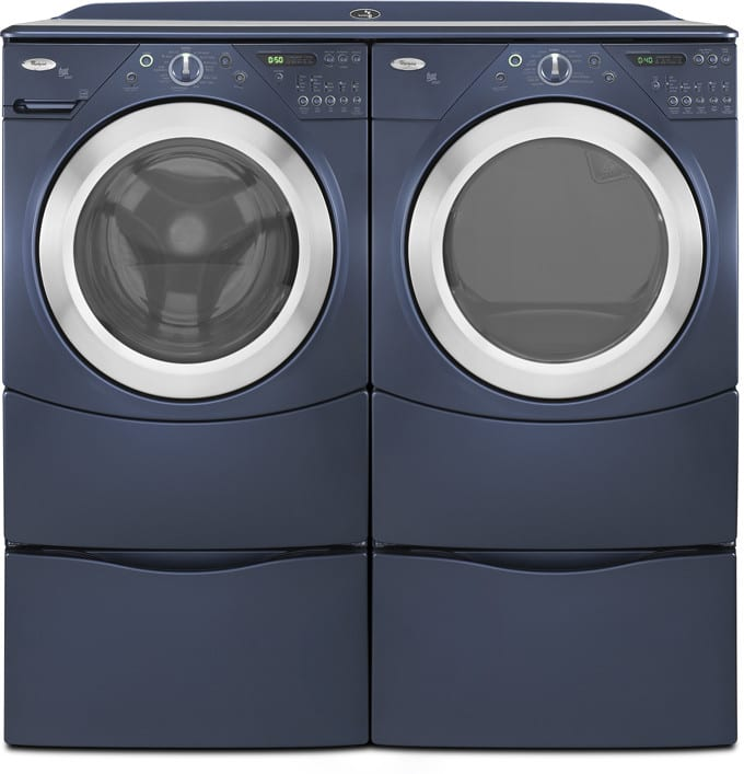 Whirlpool Duet Ht Wfw9400ve Shown With Matching Dryer
