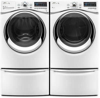 Whirlpool Wed95hexw 27 Inch Electric Steam Dryer With 7 4
