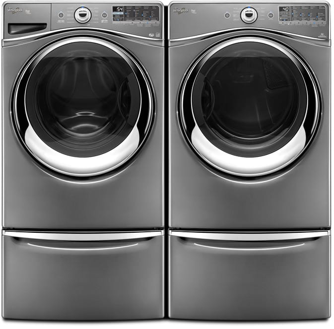 Whirlpool Wfw96heac 4 3 Cu Ft Front Load Washer With 12