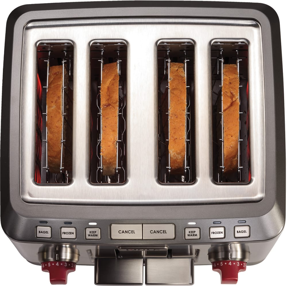 Wolf WGTR104S Countertop Toaster with 4 Slice Capacity Frozen