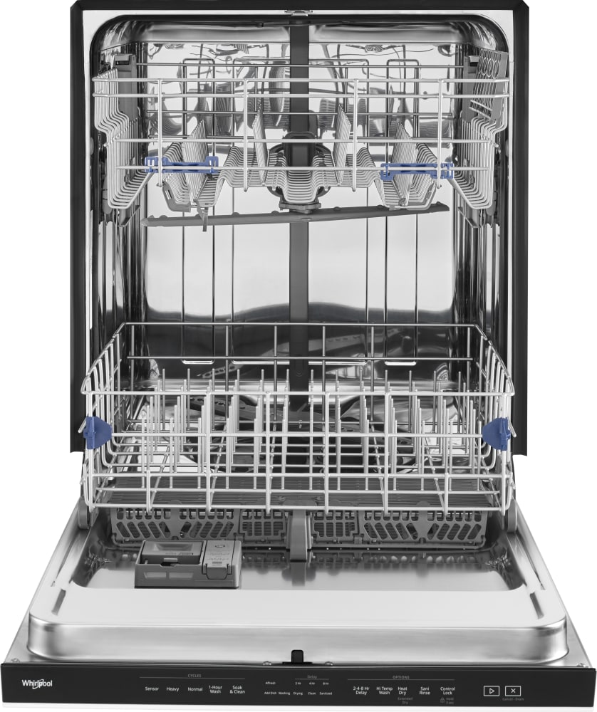 Whirlpool Wdta50sahw Fully Integrated Dishwasher With