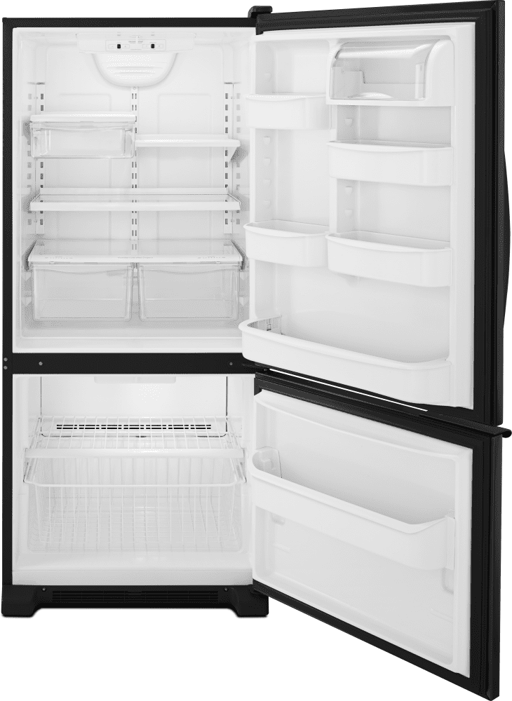 Whirlpool Wrb119wfbb 30 Inch Bottom Freezer Refrigerator