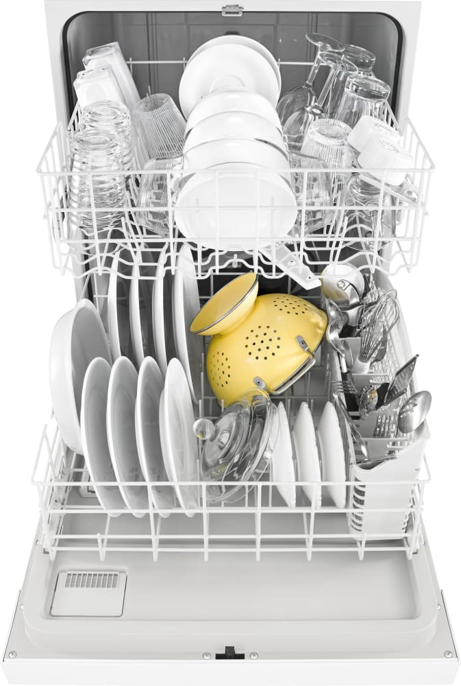 Whirlpool Wdf330pahw Full Console Dishwasher With High