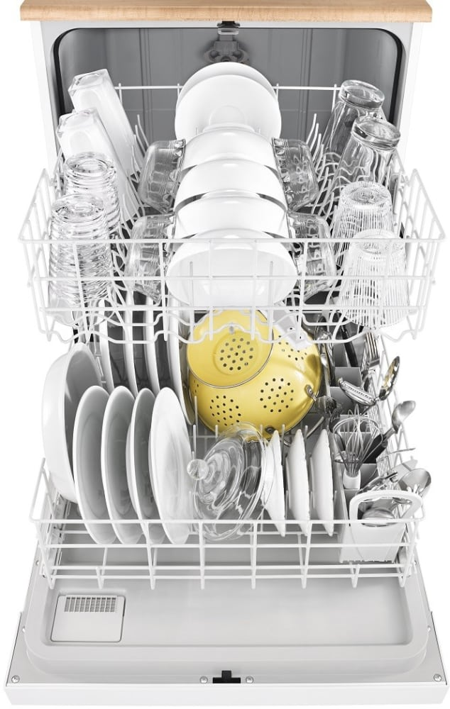 Dishwasher With Heated Dry