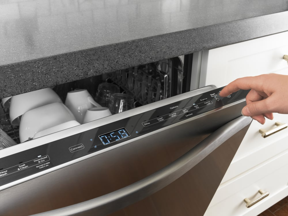Whirlpool Wdt995safm Fully Integrated Dishwasher With Wi