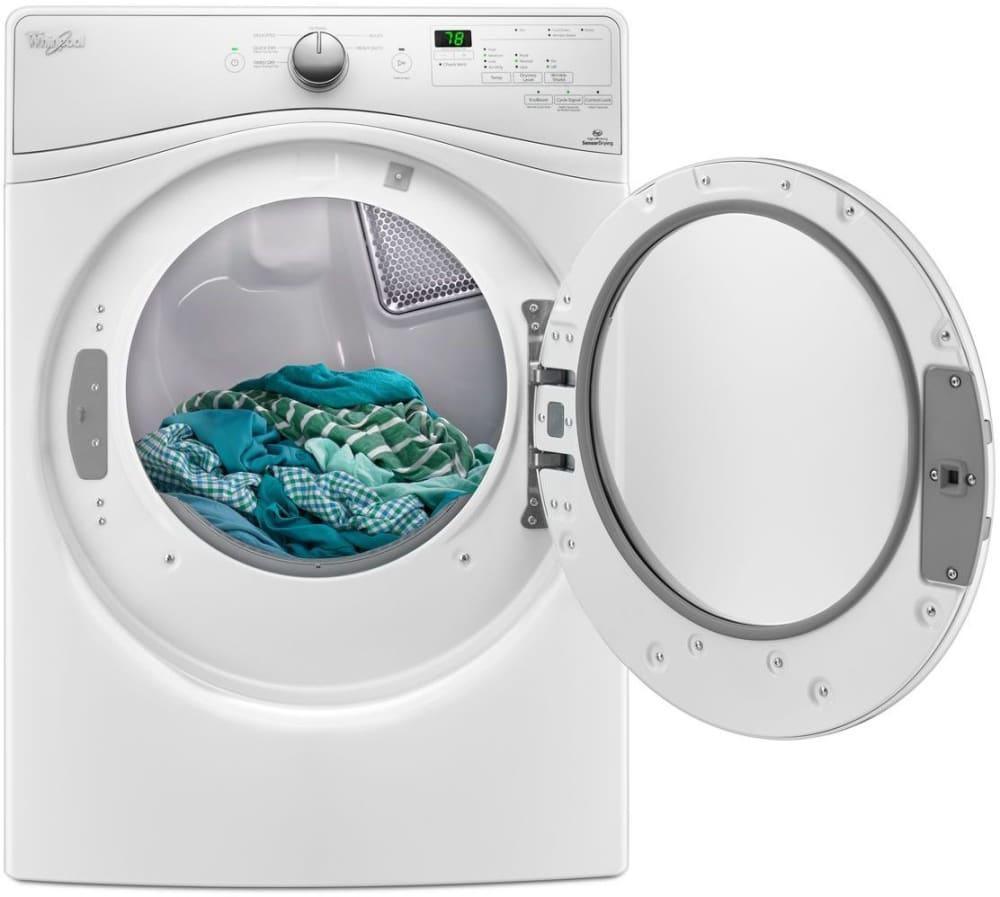 Whirlpool WGD75HEFW 27 Inch 7.4 cu. ft. Gas Dryer with Advanced ...
