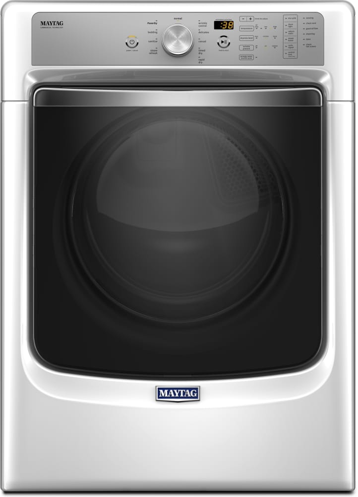 Maytag Med8200fw 27 Inch 7 4 Cu Ft Electric Dryer With