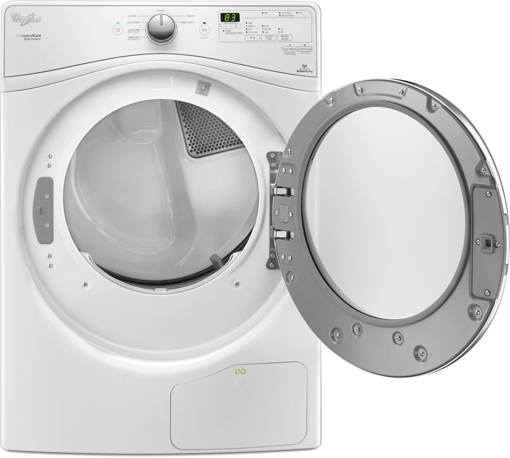 Whirlpool Wed7990fw 27 Inch 7 4 Cu Ft Ventless Electric