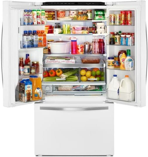 Whirlpool Wrf992fifh 36 Inch French Door Refrigerator With Infinity