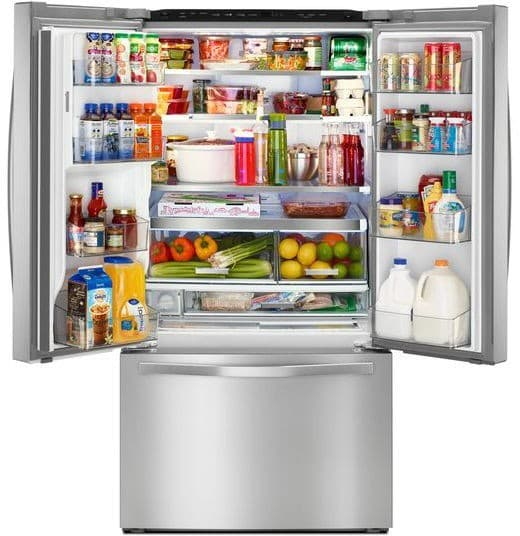 Whirlpool Wrf993fifm 36 Inch French Door Refrigerator With