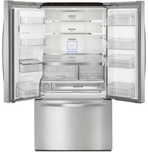 Whirlpool Wrf995fifz 36 Inch French Door Refrigerator With