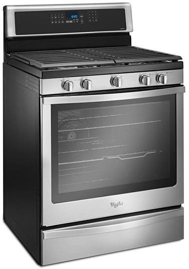 Whirlpool Wfg745h0fs 30 Inch Freestanding Gas Range With
