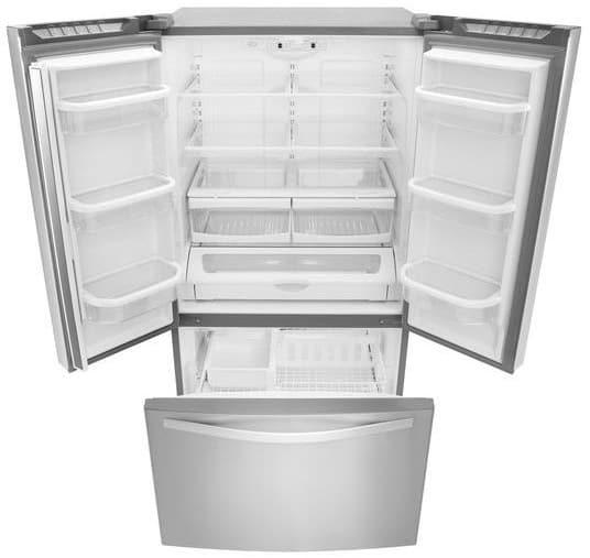 Whirlpool Wrf535smbm 36 Inch French Door Refrigerator With Freshflow