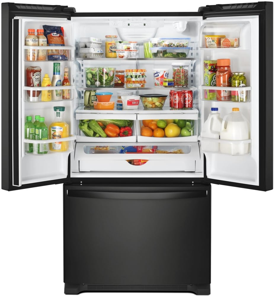 Whirlpool Wrf535smhb 36 Inch French Door Refrigerator With