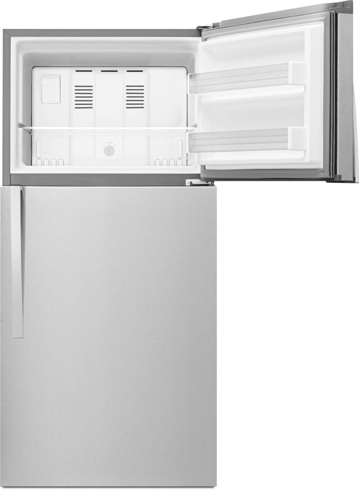 whirlpool refrigerator top freezer. whirlpool wrt519szdm - interior view refrigerator top freezer s