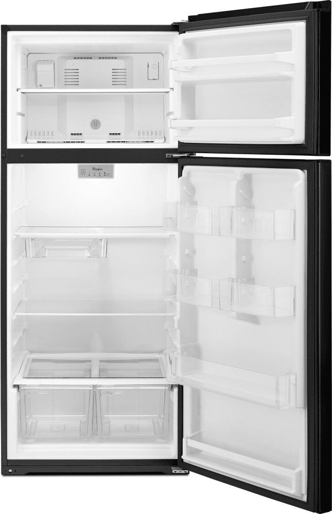 Whirlpool Wrt518szfb 28 Inch Top Freezer Refrigerator With