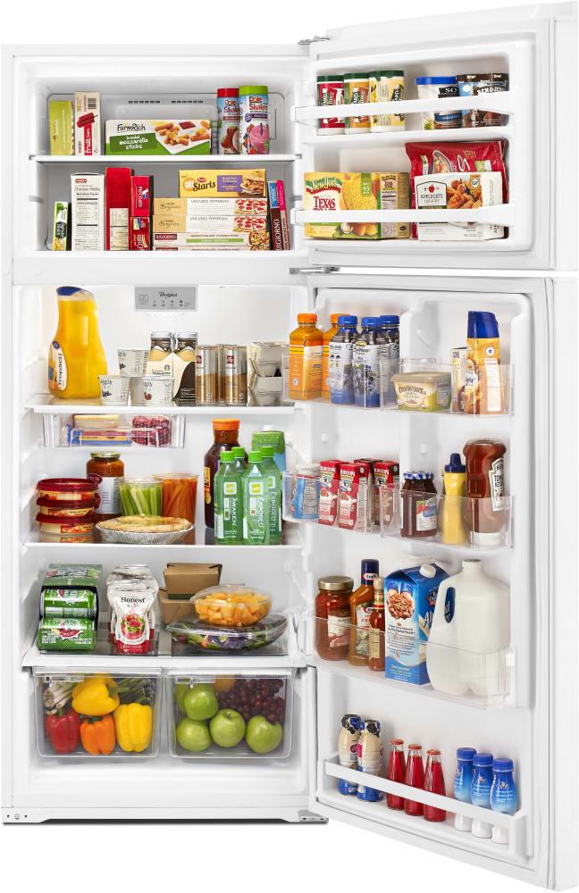 Whirlpool Wrt518szfw 28 Inch Top Freezer Refrigerator With