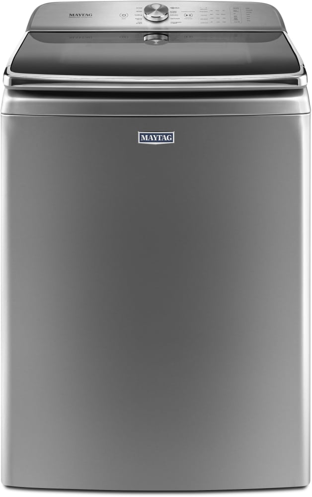 maytag mvwb955fc top load washer in chrome shadow from whirlpool
