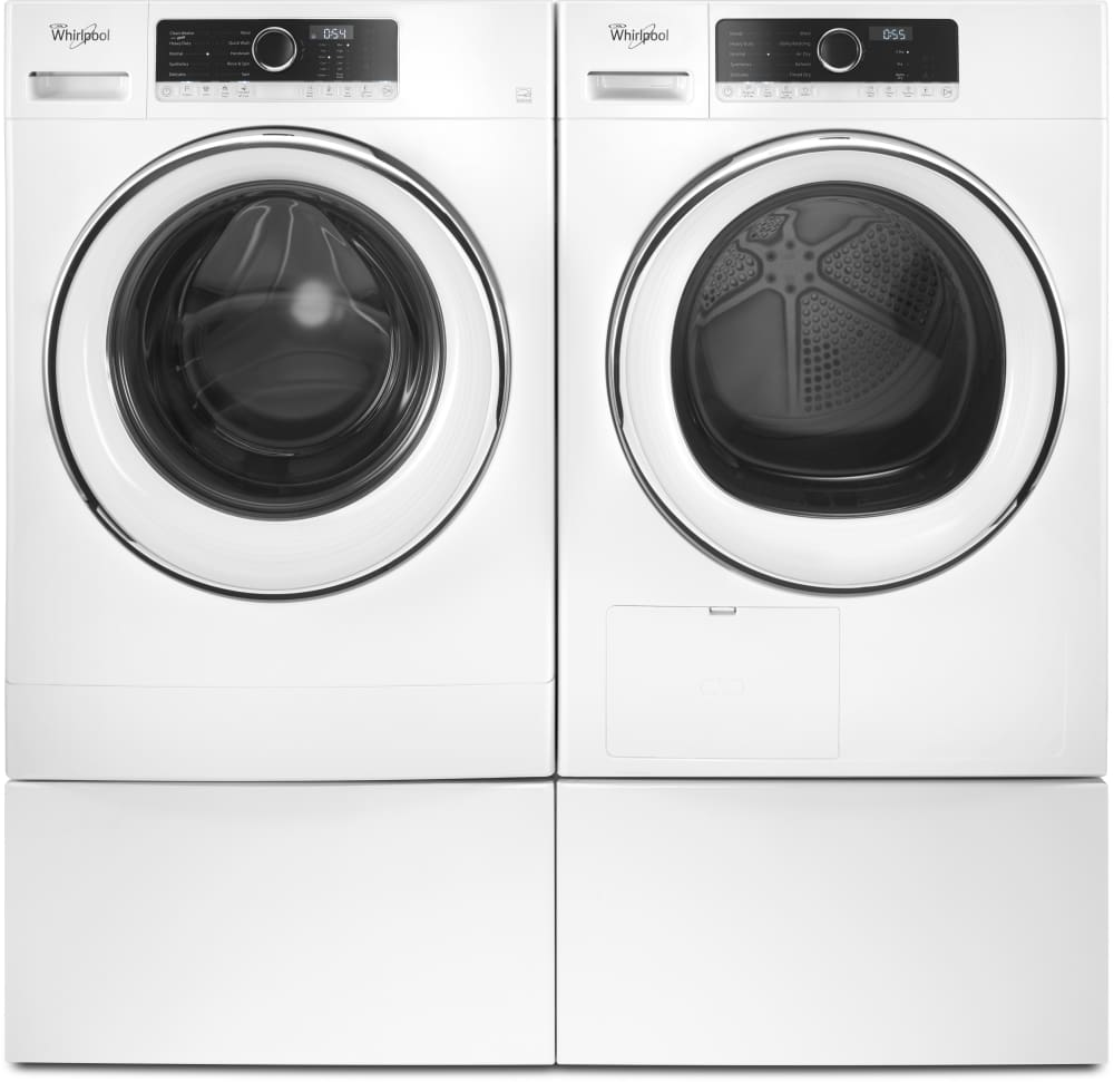 Whirlpool WHD5090GW 24 Inch 4.3 Cu. Ft. True Ventless Heat