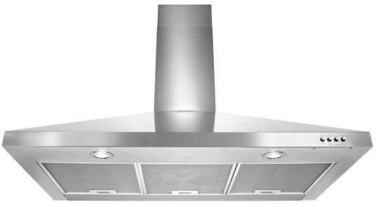 whirlpool wvw53uc6fs stainless steel wall mount range hood