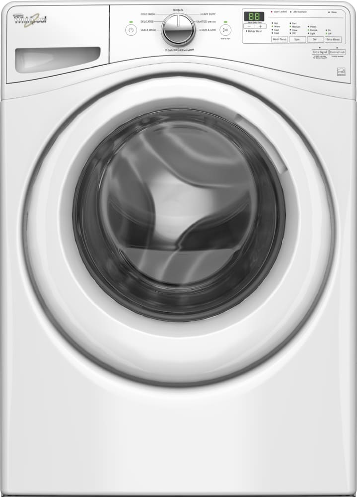 Whirlpool Wfw75hefw 27 Inch Front Load Washer With Steam