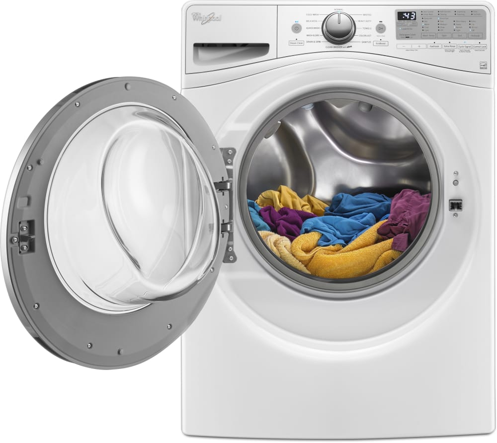 Whirlpool Wfw9290fw 27 Inch 4 2 Cu Ft Front Load Washer
