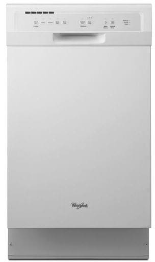 Whirlpool Wdf518safw 18 Inch Full Console Dishwasher With Silverware